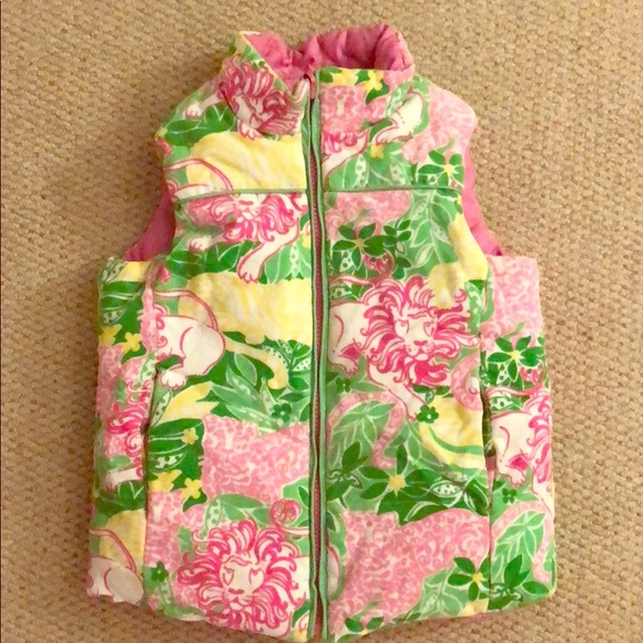 Lilly Pulitzer Other - Lilly Pulitzer Girls Reversible Vest